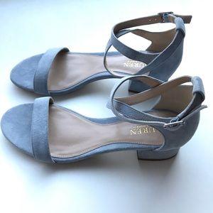 Lauren Ralph Lauren - Betha Suede - Blue - Sandal